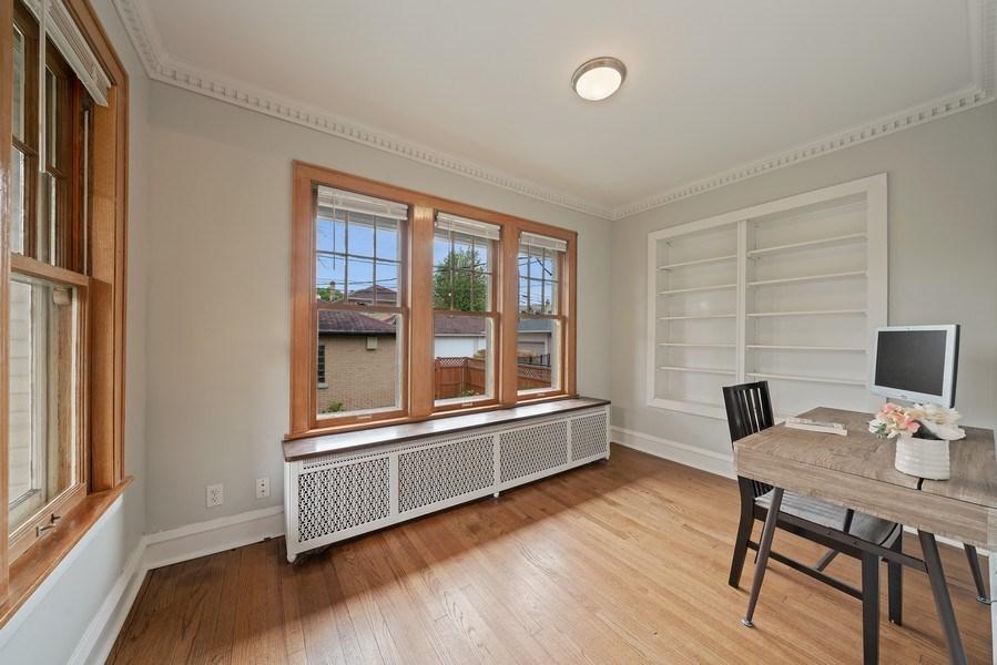 Real Estate Photography - 1207 Rossell Avenue, Oak Park, IL, 60302 - Den