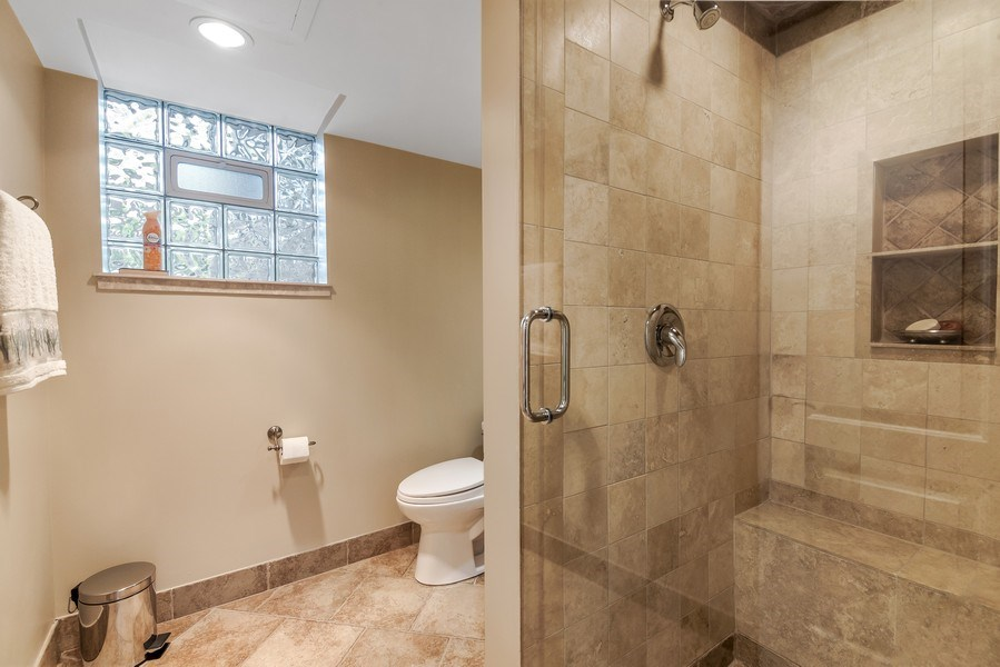 Real Estate Photography - 3703 Springdale Ave, Glenview, IL, 60025 - 4th Bath-lower level