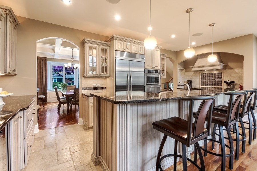 Real Estate Photography - 3703 Springdale Ave, Glenview, IL, 60025 - Kitchen