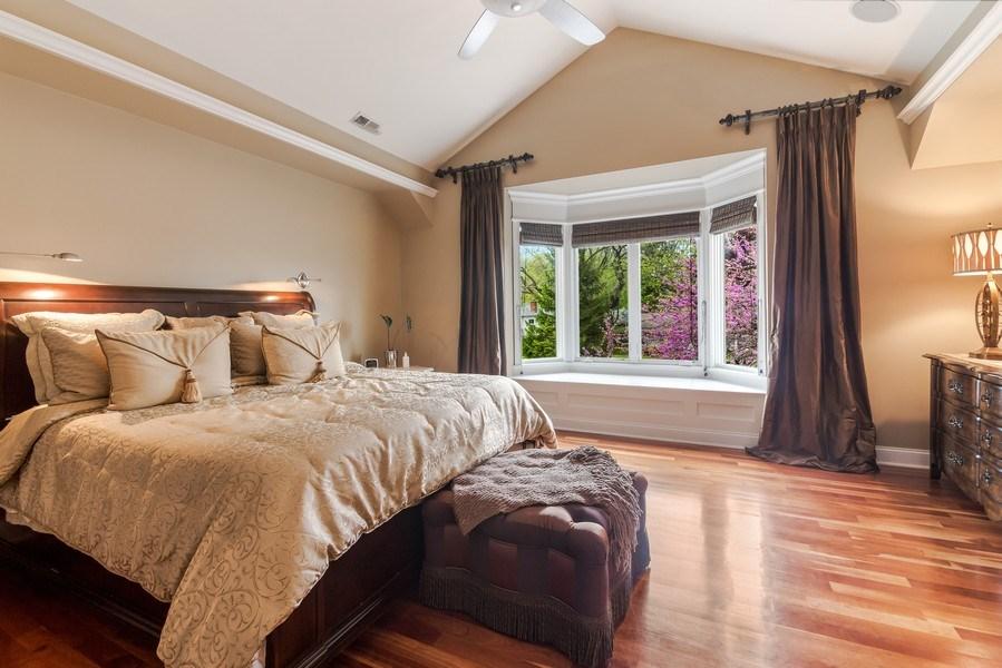 Real Estate Photography - 3703 Springdale Ave, Glenview, IL, 60025 - Master Bedroom