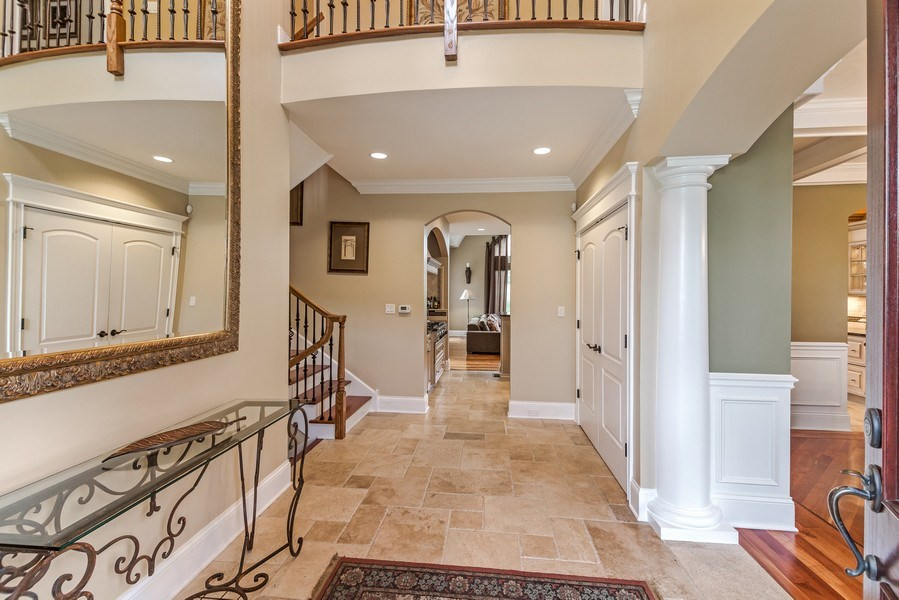 Real Estate Photography - 3703 Springdale Ave, Glenview, IL, 60025 - Foyer