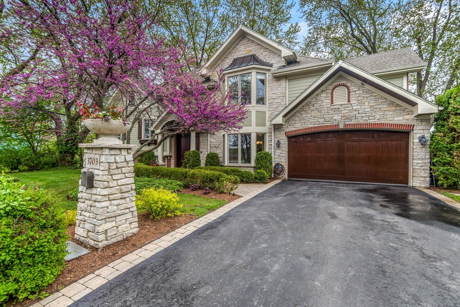 Real Estate Photography - 3703 Springdale Ave, Glenview, IL, 60025 - Front View