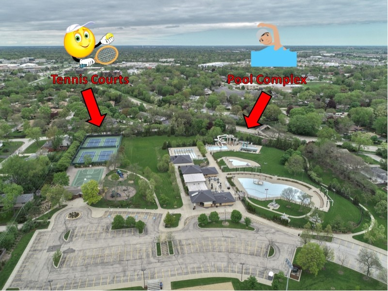 Real Estate Photography - 3703 Springdale Ave, Glenview, IL, 60025 -