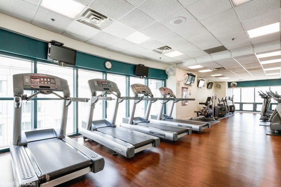Real Estate Photography - 100 E. Huron Street, Unit 1802, Chicago, IL, 60611 - Exercise Room