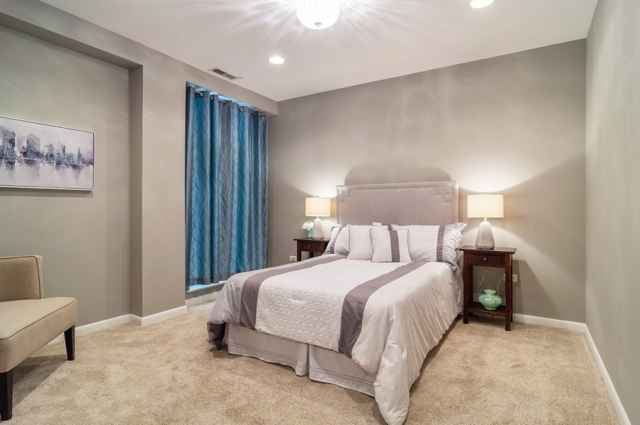 Real Estate Photography - 433 N. Wells Street, Unit 202, Chicago, IL, 60654 - 2nd Bedroom