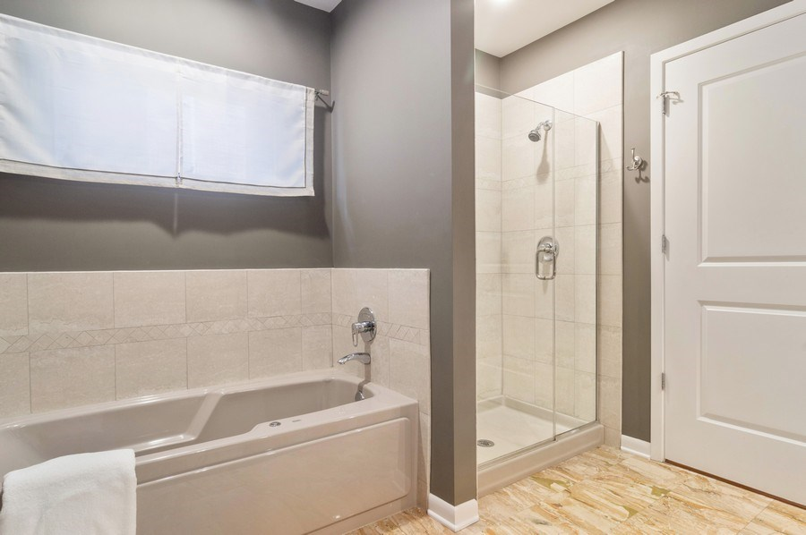 Real Estate Photography - 433 N. Wells Street, Unit 202, Chicago, IL, 60654 - Master Bathroom