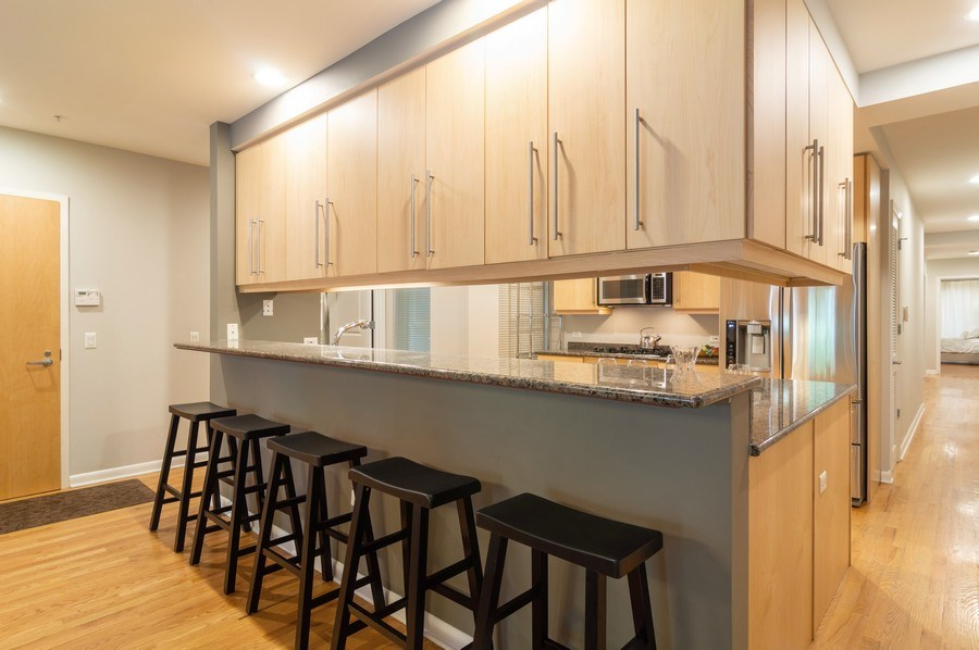 Real Estate Photography - 433 N. Wells Street, Unit 202, Chicago, IL, 60654 - Kitchen