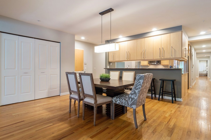 Real Estate Photography - 433 N. Wells Street, Unit 202, Chicago, IL, 60654 - Kitchen / Dining Room