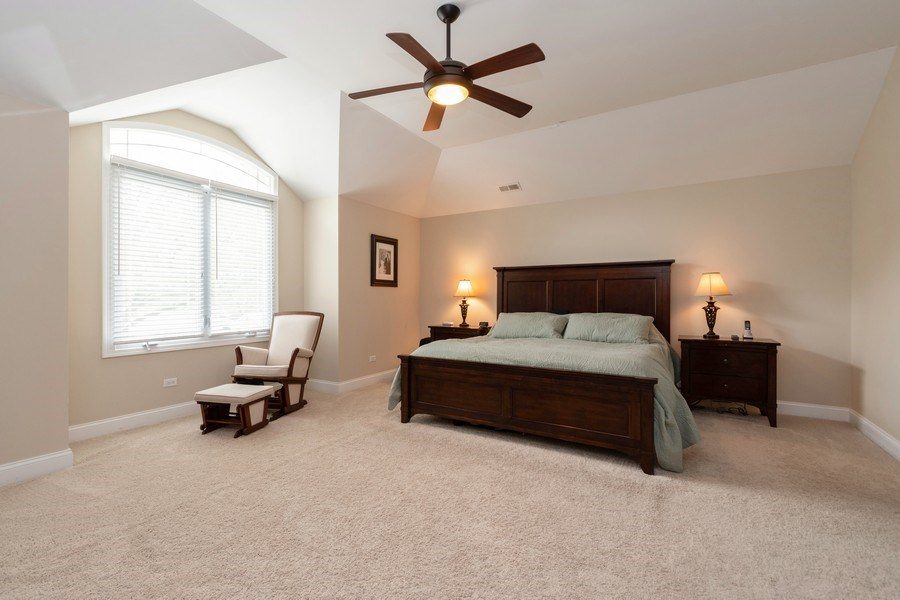 Real Estate Photography - 4956 Paxton Road, Oak Lawn, IL, 60453 - Master Bedroom