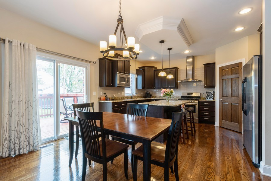 Real Estate Photography - 4956 Paxton Road, Oak Lawn, IL, 60453 - Kitchen / Breakfast Room