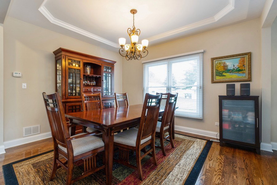 Real Estate Photography - 4956 Paxton Road, Oak Lawn, IL, 60453 - Dining Room