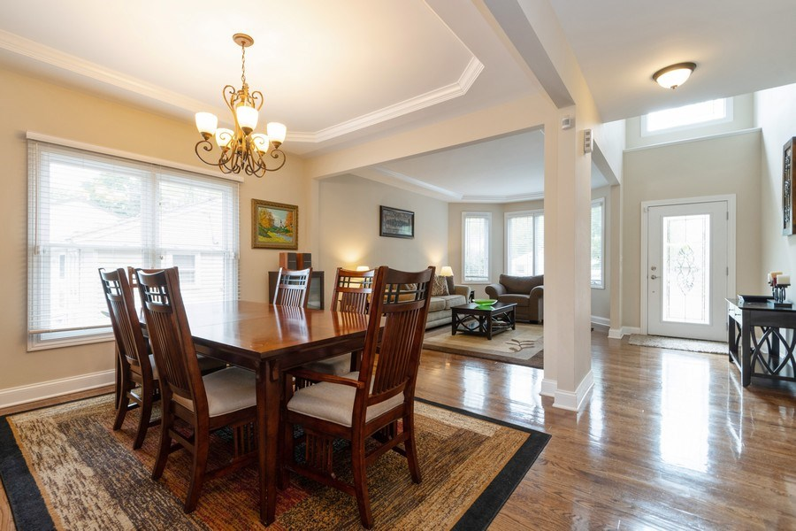Real Estate Photography - 4956 Paxton Road, Oak Lawn, IL, 60453 - Living Room / Dining Room