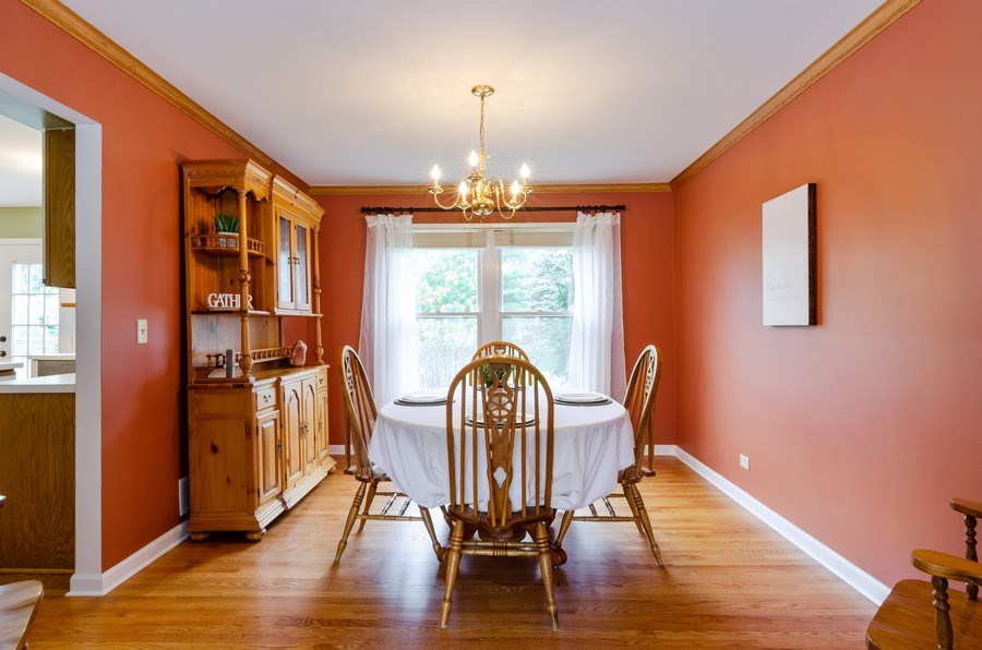 Real Estate Photography - 1210 Alexandra Boulevard, Crystal Lake, IL, 60014 - Dining Room