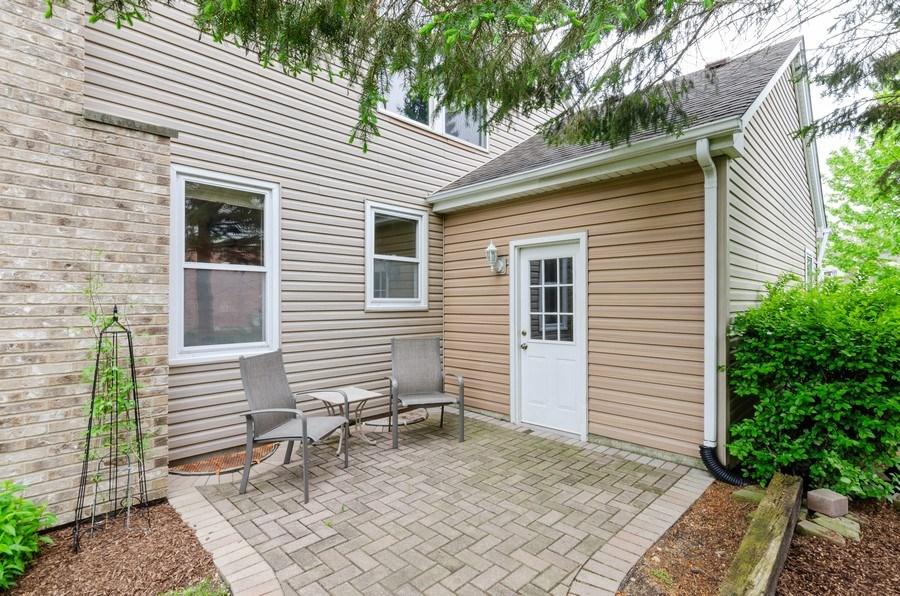 Real Estate Photography - 1210 Alexandra Boulevard, Crystal Lake, IL, 60014 - Brick Patio