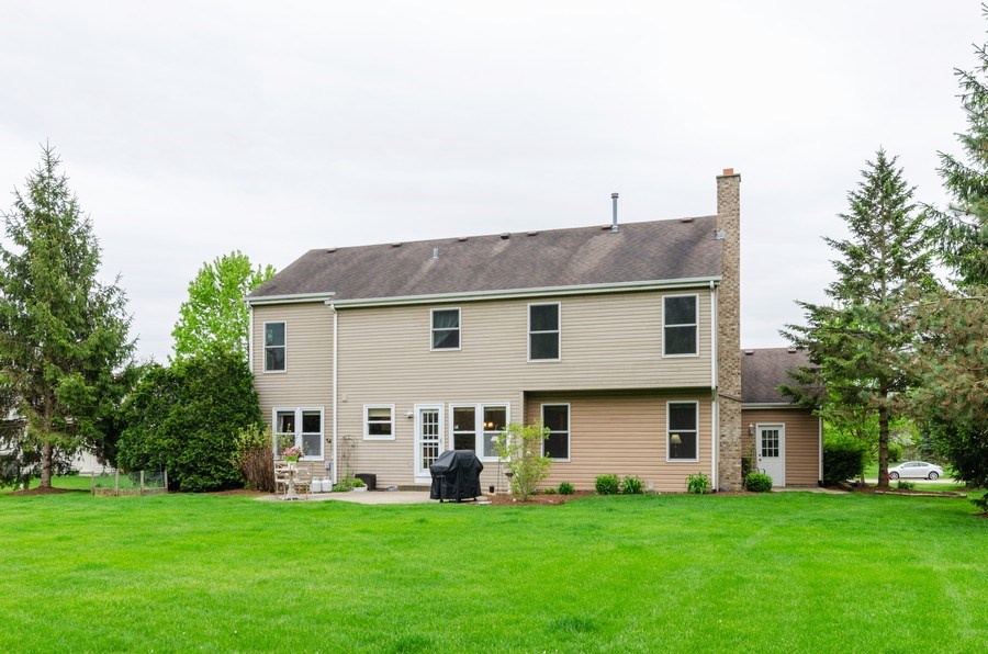 Real Estate Photography - 1210 Alexandra Boulevard, Crystal Lake, IL, 60014 - Rear View