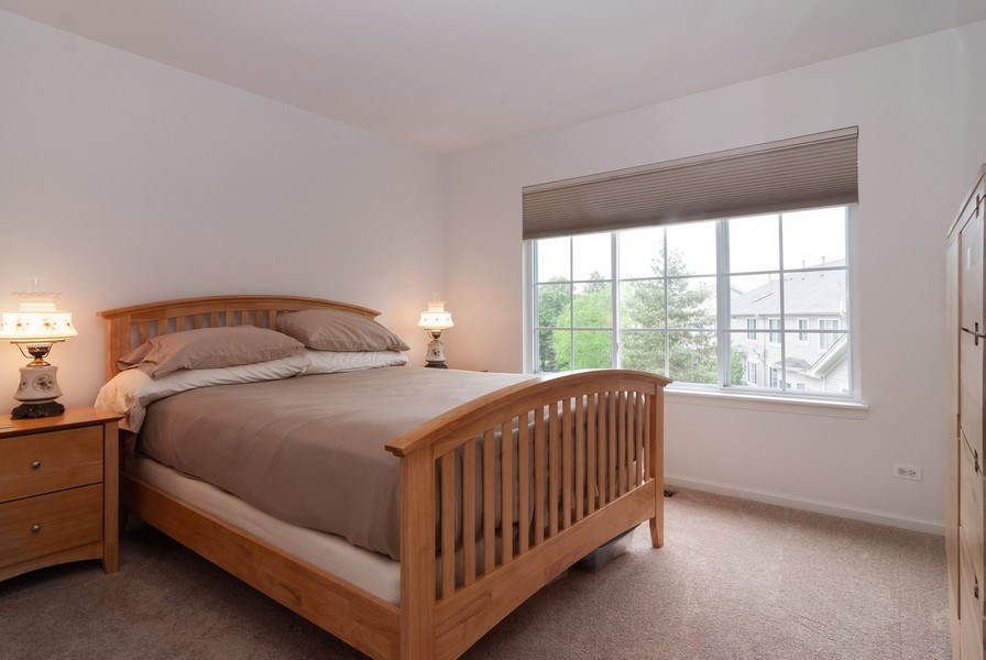 Real Estate Photography - 1236 Townes Circle, Aurora, IL, 60502 - 2nd Bedroom