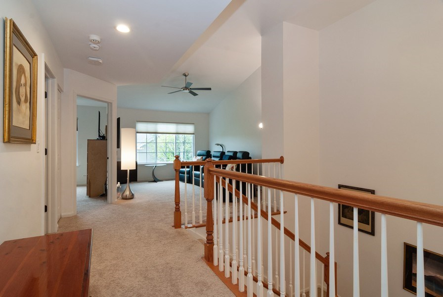 Real Estate Photography - 1236 Townes Circle, Aurora, IL, 60502 - 2nd Floor Corridor