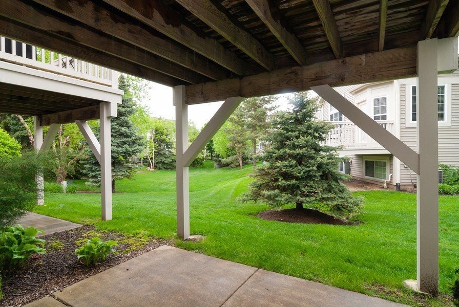 Real Estate Photography - 1236 Townes Circle, Aurora, IL, 60502 - Deck