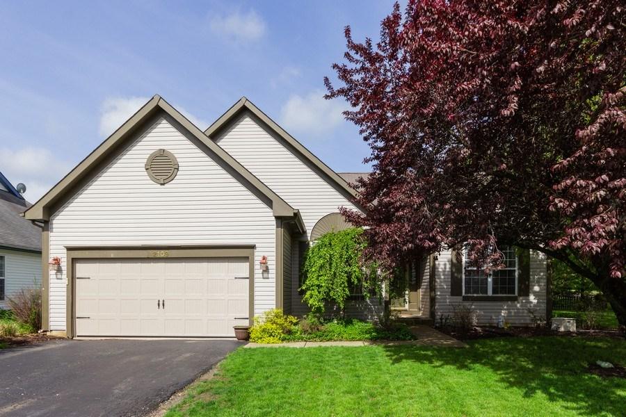 Real Estate Photography - 2109 Vermette Circle, Plainfield, IL, 60586 - Front View