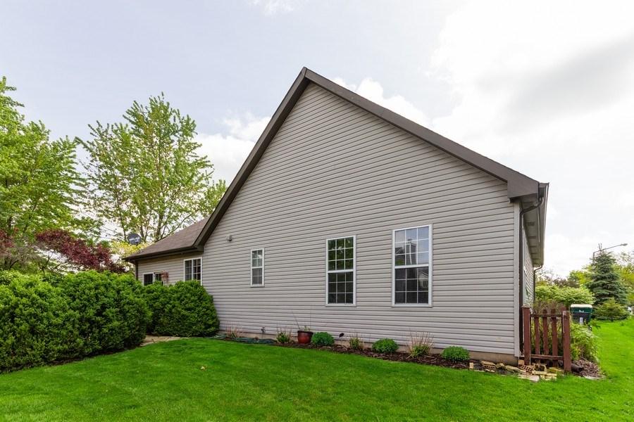 Real Estate Photography - 2109 Vermette Circle, Plainfield, IL, 60586 - Rear View