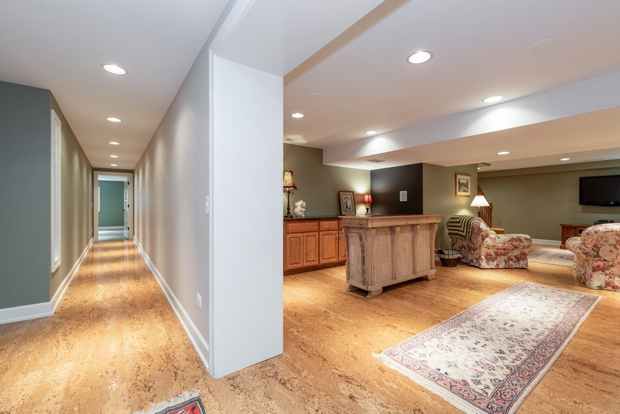 Real Estate Photography - 20400 Windflower Court, Mundelein, IL, 60060 - Recreation Room