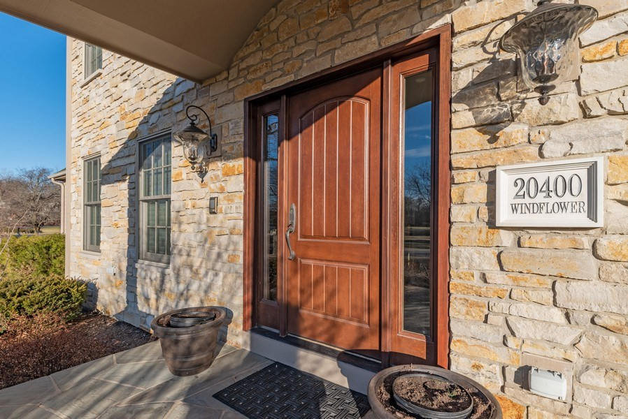 Real Estate Photography - 20400 Windflower Court, Mundelein, IL, 60060 - Front View