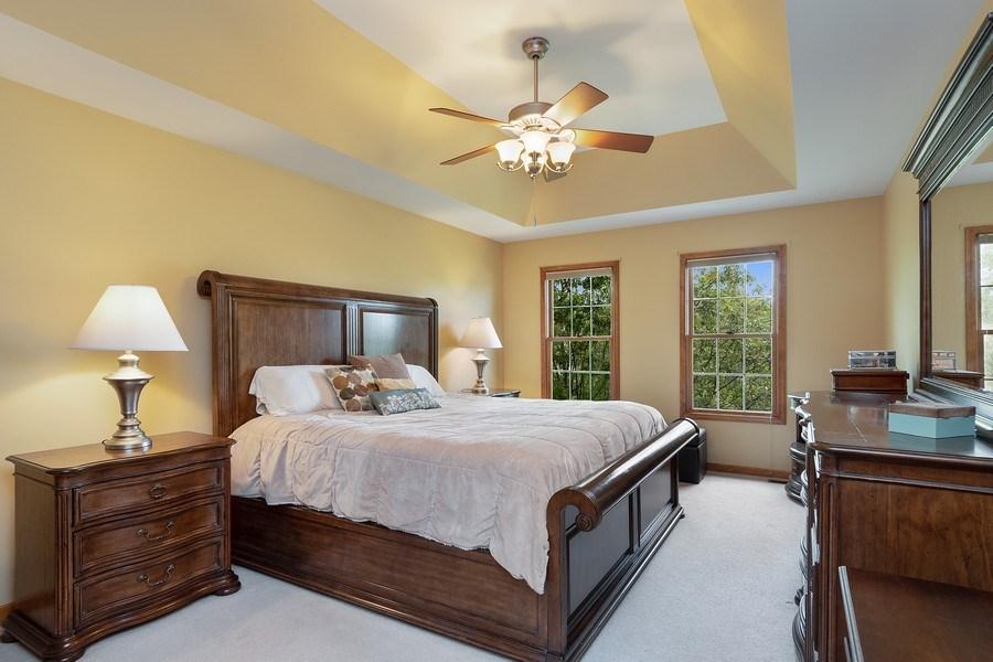 Real Estate Photography - 5520 Bergamot Lane, Naperville, IL, 60564 - Master Bedroom