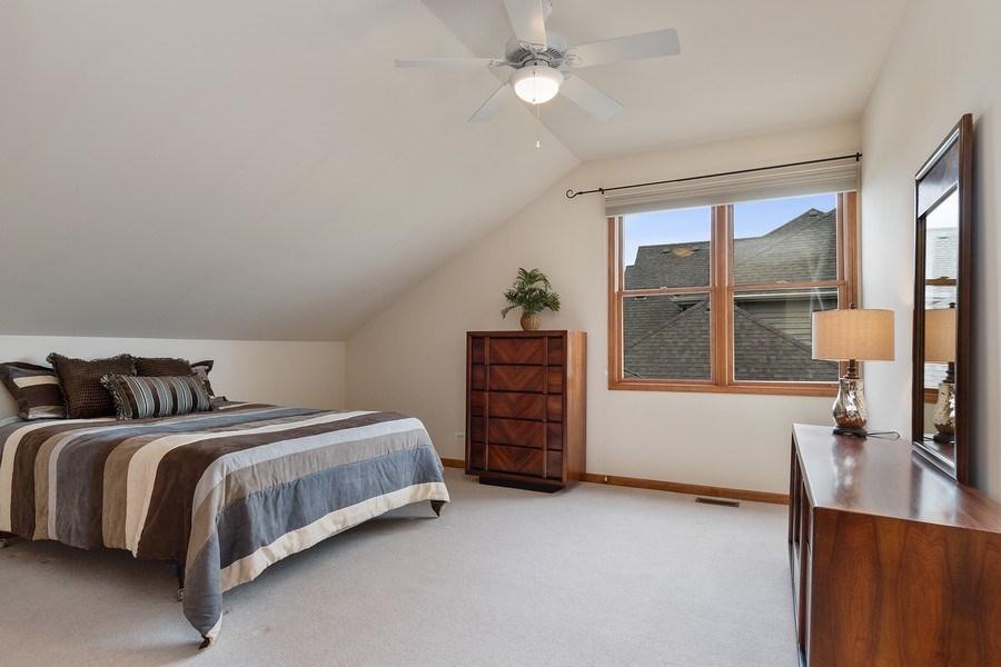Real Estate Photography - 5520 Bergamot Lane, Naperville, IL, 60564 - Bedroom Three