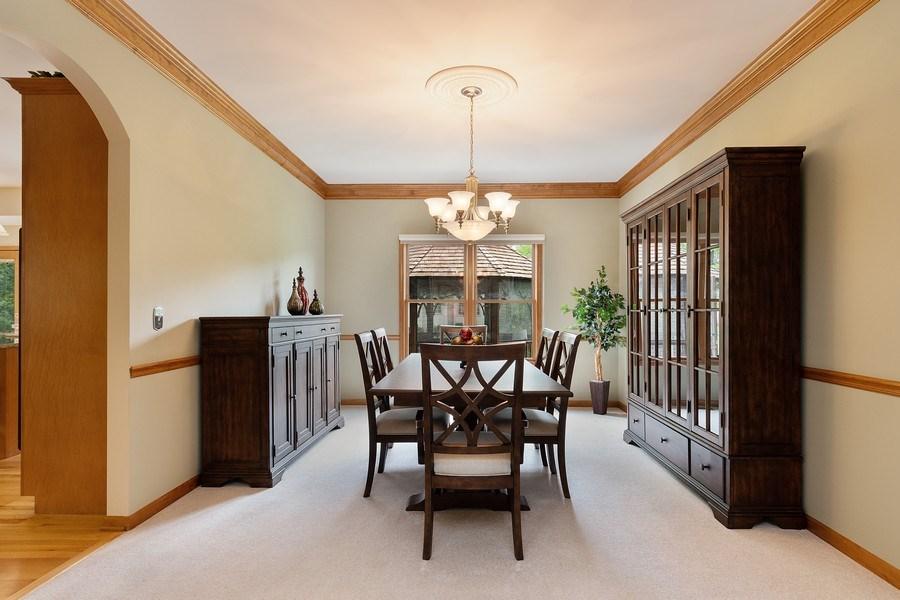 Real Estate Photography - 5520 Bergamot Lane, Naperville, IL, 60564 - Dining Room