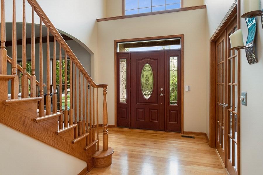 Real Estate Photography - 5520 Bergamot Lane, Naperville, IL, 60564 - Foyer