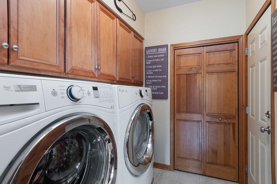 Real Estate Photography - 5520 Bergamot Lane, Naperville, IL, 60564 - Laundry/Mud Room