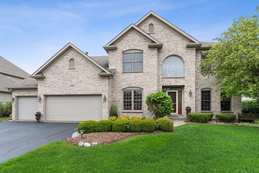 Real Estate Photography - 5520 Bergamot Lane, Naperville, IL, 60564 - Front View