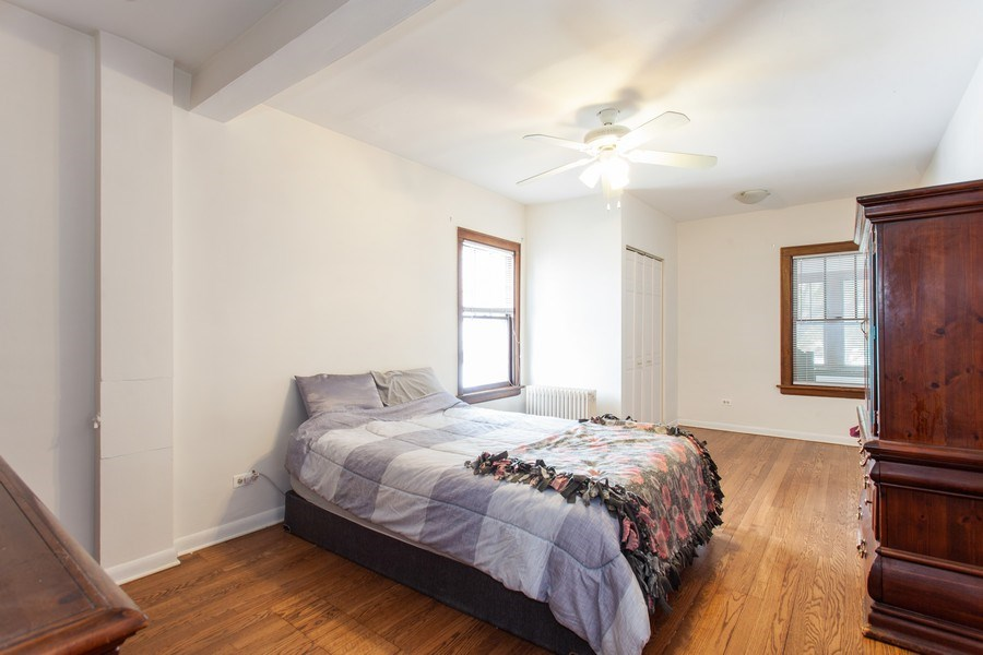 Real Estate Photography - 244 Des Plaines Ave, Forest Park, IL, 60130 - 3rd Bedroom