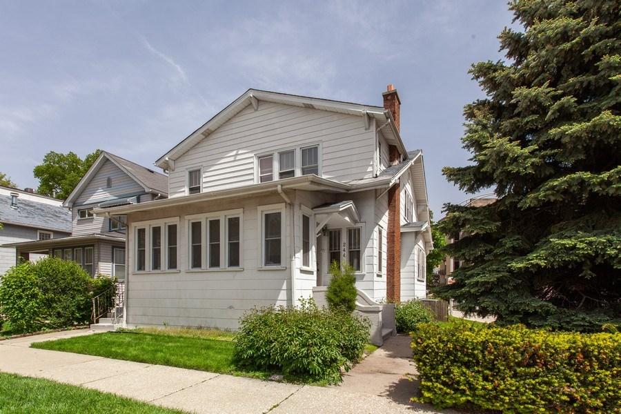 Real Estate Photography - 244 Des Plaines Ave, Forest Park, IL, 60130 - Front View