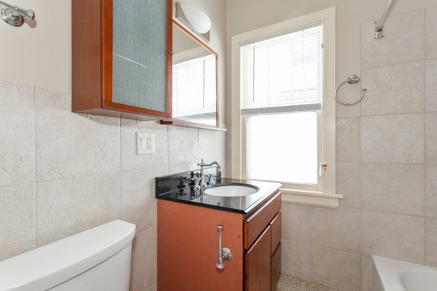 Real Estate Photography - 244 Des Plaines Ave, Forest Park, IL, 60130 - Bathroom