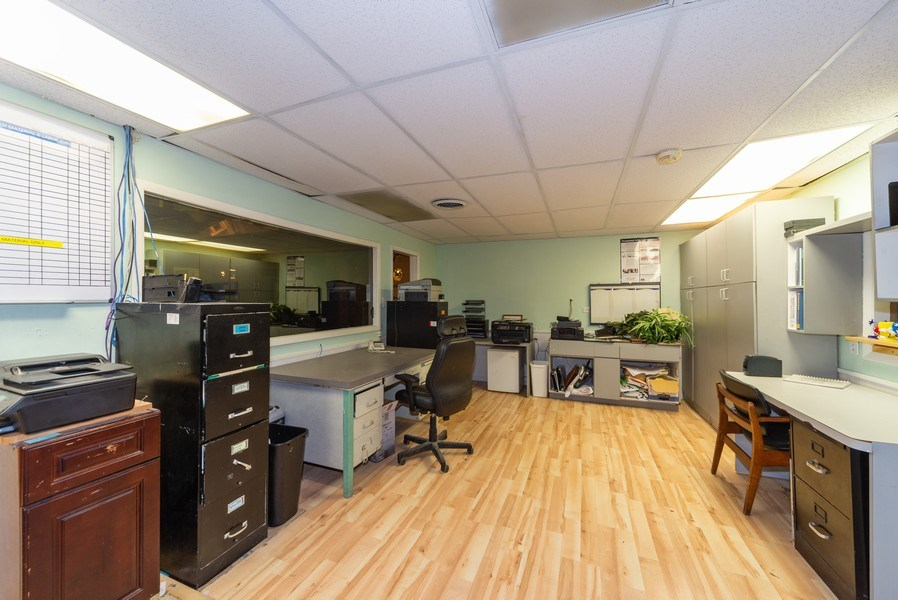 Real Estate Photography - 7717 West Belmont Ave, Elmwood Park, IL, 60707 - Office