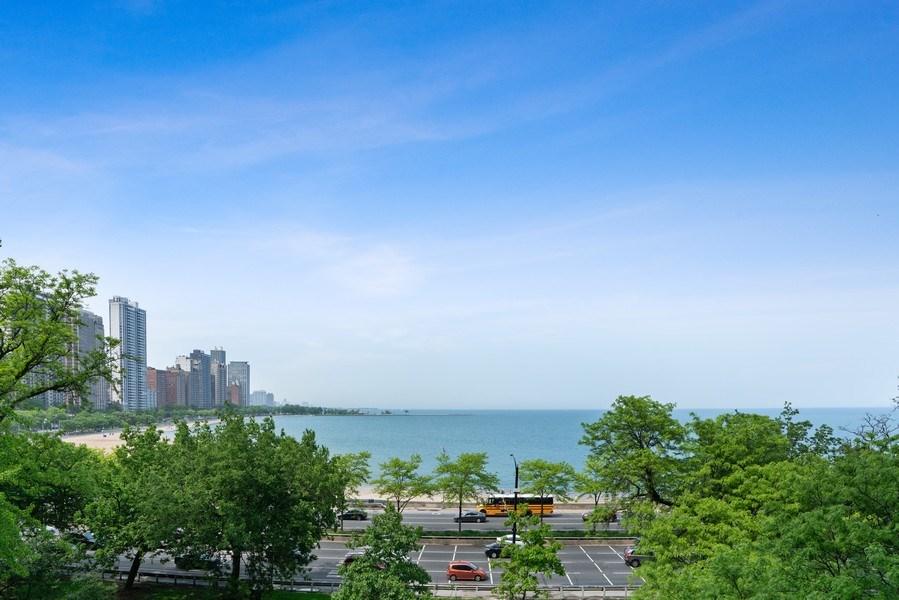 Real Estate Photography - 219 E. LAKE SHORE Drive, Unit 5D, Chicago, IL, 60611 - View