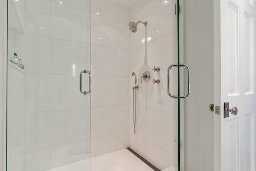 Real Estate Photography - 219 E. LAKE SHORE Drive, Unit 5D, Chicago, IL, 60611 - Master Bathroom