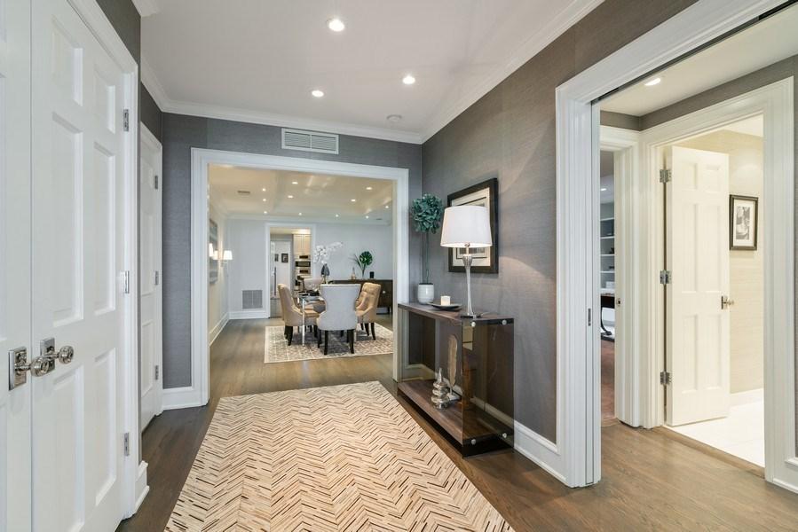 Real Estate Photography - 219 E. LAKE SHORE Drive, Unit 5D, Chicago, IL, 60611 - Foyer