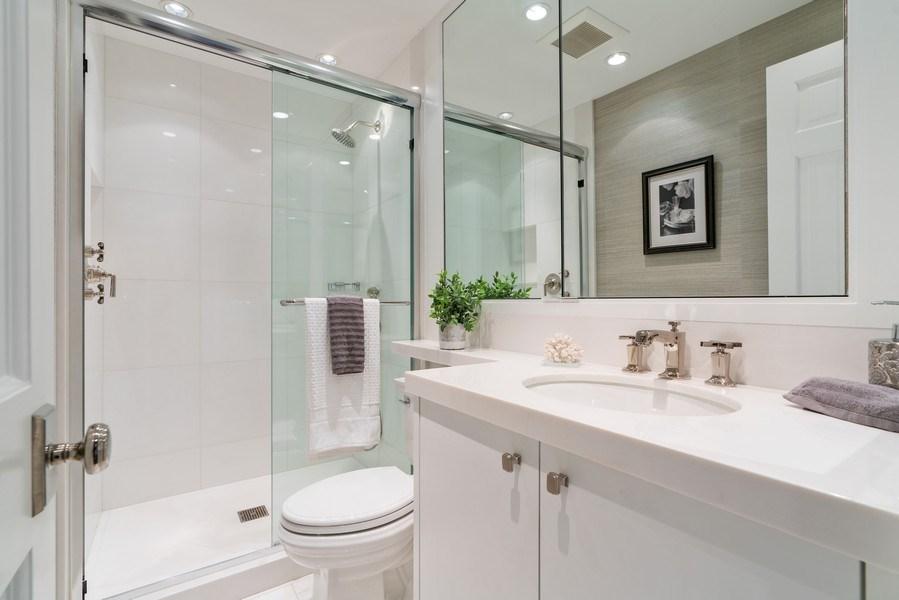 Real Estate Photography - 219 E. LAKE SHORE Drive, Unit 5D, Chicago, IL, 60611 - Bathroom