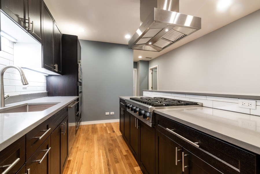 Real Estate Photography - 6125 N Ravenswood, Unit 2, Chicago, IL, 60640 - Kitchen