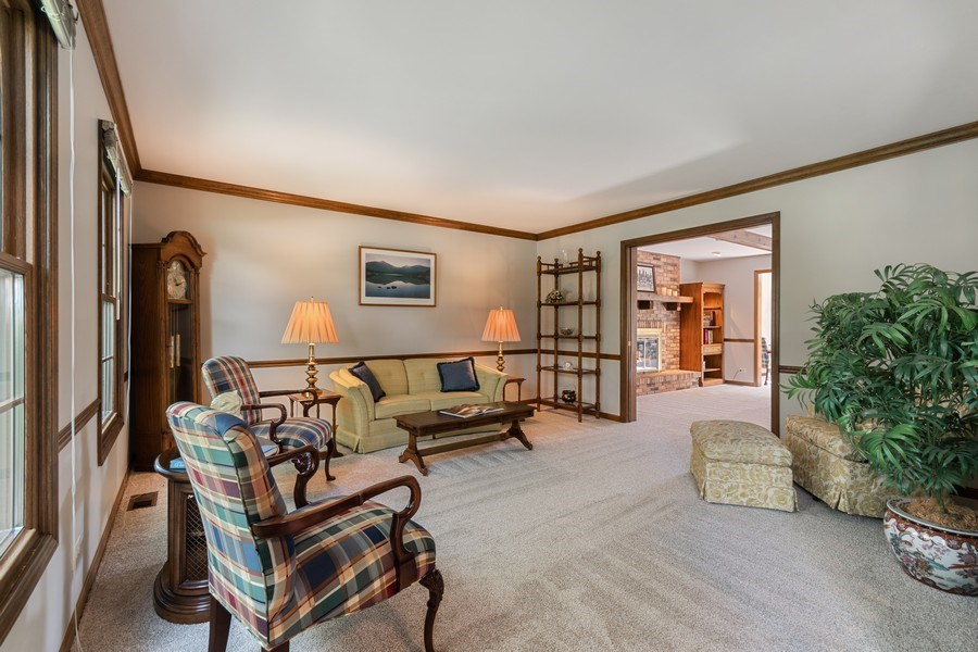 Real Estate Photography - 835 Morven Court, Naperville, IL, 60563 - Living Room