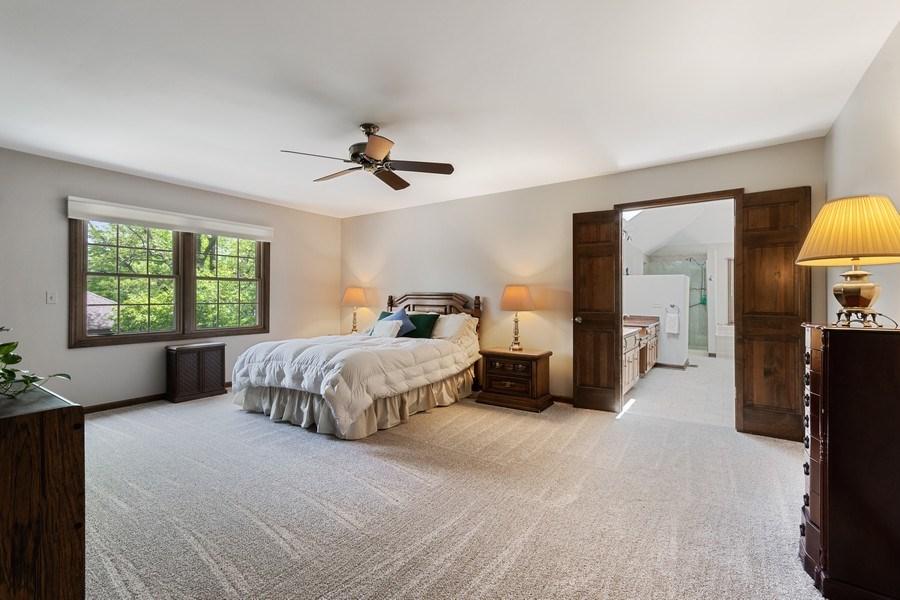Real Estate Photography - 835 Morven Court, Naperville, IL, 60563 - Master Bedroom