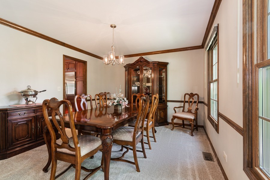 Real Estate Photography - 835 Morven Court, Naperville, IL, 60563 - Dining Room