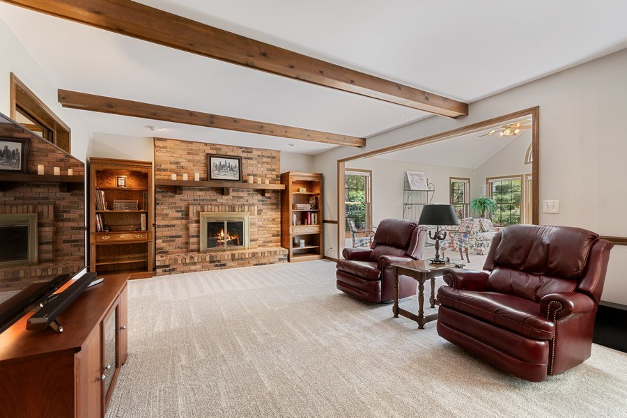 Real Estate Photography - 835 Morven Court, Naperville, IL, 60563 - Family Room