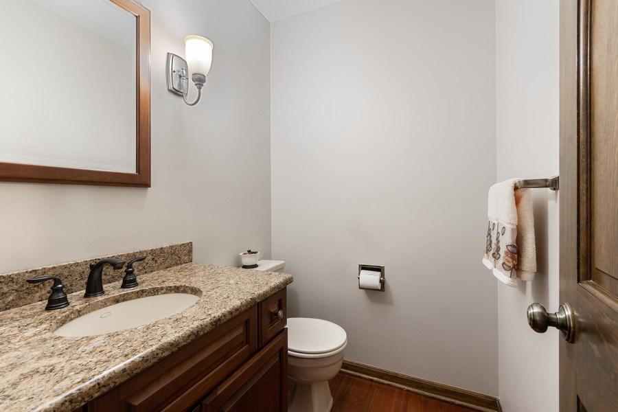 Real Estate Photography - 835 Morven Court, Naperville, IL, 60563 - Half Bath