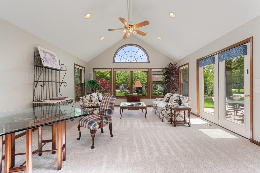 Real Estate Photography - 835 Morven Court, Naperville, IL, 60563 - Sun Room