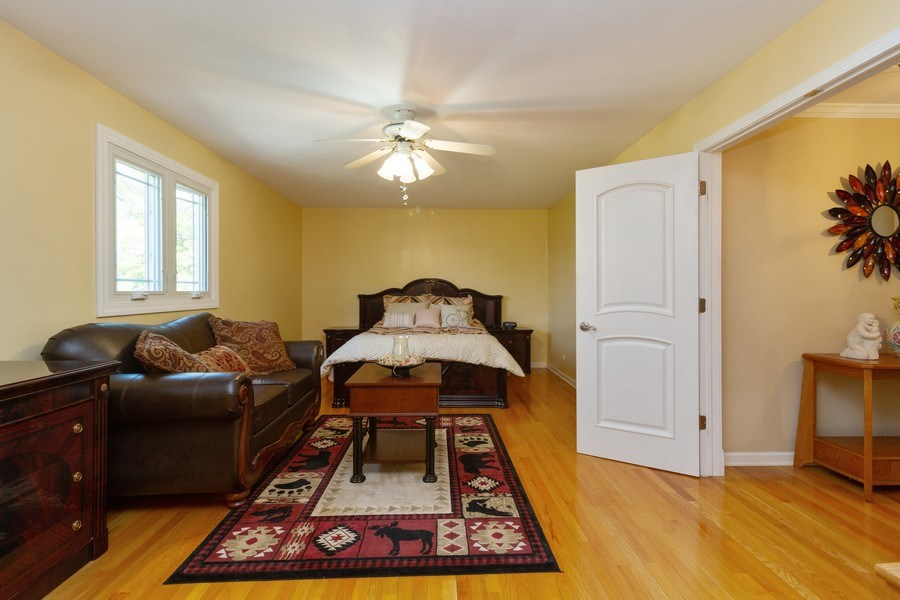 Real Estate Photography - 8438 Hollywood Drive, Orland Park, IL, 60462 - Master Bedroom