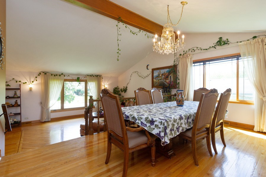 Real Estate Photography - 8438 Hollywood Drive, Orland Park, IL, 60462 - Dining Room