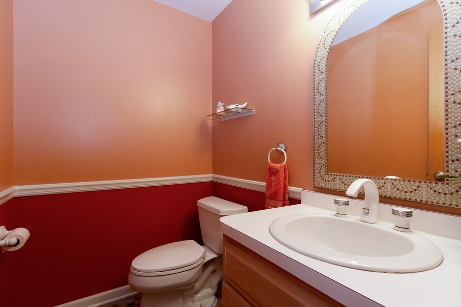 Real Estate Photography - 8438 Hollywood Drive, Orland Park, IL, 60462 - Bathroom